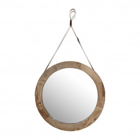 Зеркало в деревянной раме лофт КЕЯ